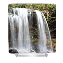 Dry Falls Nc 10 19 2013 Shower Curtain