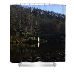 Dry Fork At Jenningston Shower Curtain