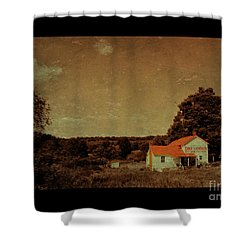 Dry Goods Shower Curtain
