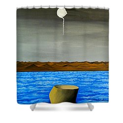 Dry-land Culture Shower Curtain
