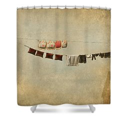 Drying Shower Curtain
