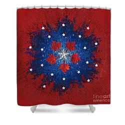Dual Citizenship 2 Shower Curtain by First Star Art