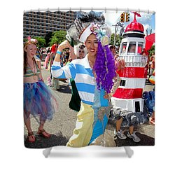 Shower Curtain featuring the photograph Duality by Ed Weidman