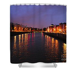 Dublin Nights Shower Curtain by Mary Carol Story