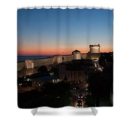 Shower Curtain featuring the photograph Dubrovnik by Silvia Bruno