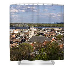 Dubuque Iowa Shower Curtain