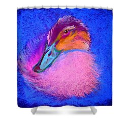 Duckling Pretty In Pink Shower Curtain