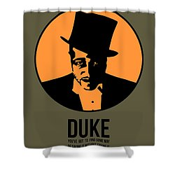 Dude Poster 3 Shower Curtain
