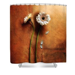 Duet Shower Curtain by Jaroslaw Blaminsky