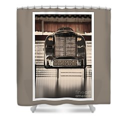 Shower Curtain featuring the photograph Duke Box by Michael Edwards