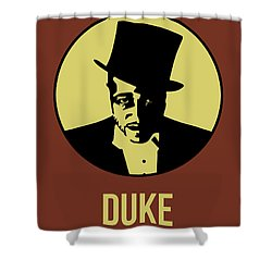 Duke Poster 1 Shower Curtain