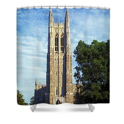 Duke University's Chapel Tower Shower Curtain