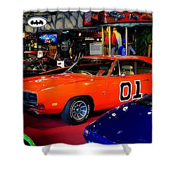Dukes Of Hazzard Shower Curtain by Frozen in Time Fine Art Photography