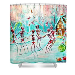Dulcelandia Shower Curtain