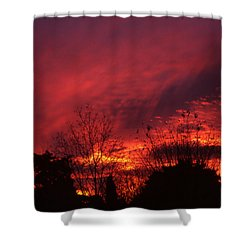 Dundee Sunset Shower Curtain