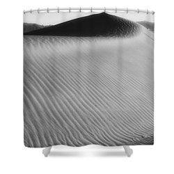 Dune Death Valley Shower Curtain by Hugh Smith