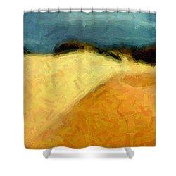 Dunes 1 Shower Curtain
