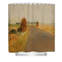 Dungog Area Nsw Australia Shower Curtain by Tim Mullaney