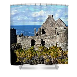 Dunluce Castle Shower Curtain