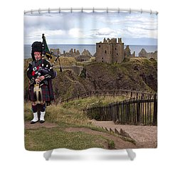 Dunnottar Piper Shower Curtain