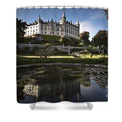 Dunrobin Castle Shower Curtain by Roddy Atkinson
