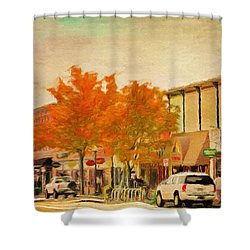 Durango Autumn Shower Curtain by Jeff Kolker