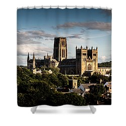 Shower Curtain featuring the photograph Durham Cathedral by Matt Malloy