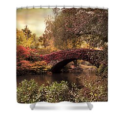 Shower Curtain featuring the photograph Dusk At Gapstow by Jessica Jenney