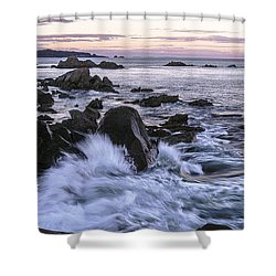 Dusk At West Quoddy Head Light Shower Curtain