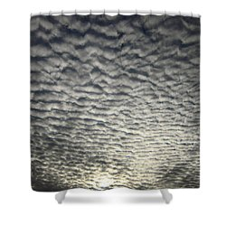 Shower Curtain featuring the photograph Dusk by Mary Bedy