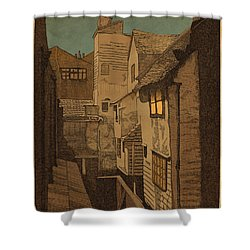 Dusk Shower Curtain by Meg Shearer