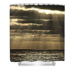 Dusk On Pacific Shower Curtain
