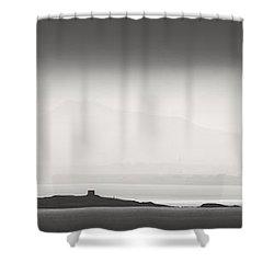 Dusk Over Dalkey Shower Curtain