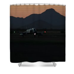 Dusk Return Shower Curtain