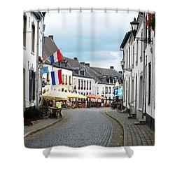 Dutch Cityscape - Thorn Shower Curtain by Carol Groenen