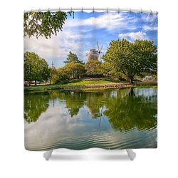 Shower Curtain featuring the photograph Dutch Mill  by Liane Wright