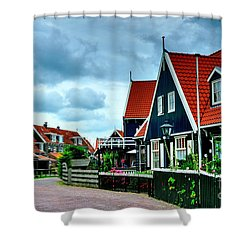 Shower Curtain featuring the photograph Dutch Village by Joe  Ng