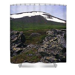 Dyatlov's Pass Shower Curtain by Vladimir Kholostykh