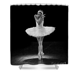 Dying Swan 5. Shower Curtain