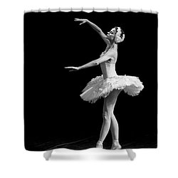 Dying Swan 8. Shower Curtain