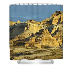 Dynamic Lighting Shower Curtain by James Peterson
