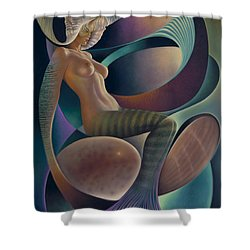 Dynamic Queen 6 Shower Curtain