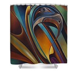 Dynamic Series #17 Shower Curtain