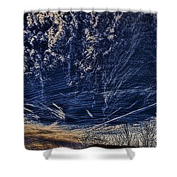 Dynamic Skyscape Shower Curtain