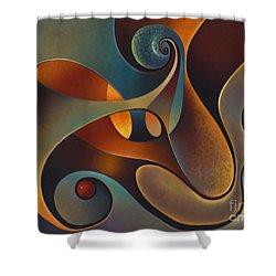 Dynmaic Series #14 Shower Curtain