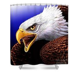 Eagle Shower Curtain by Jurek Zamoyski