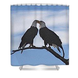 Eagle Love Shower Curtain