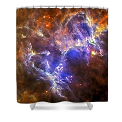 Eagle Nebula Shower Curtain by Adam Romanowicz