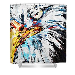 Eagle Shower Curtain by Patricia Olson