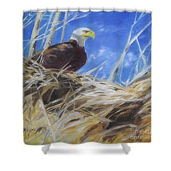 Eagles Nest Shower Curtain